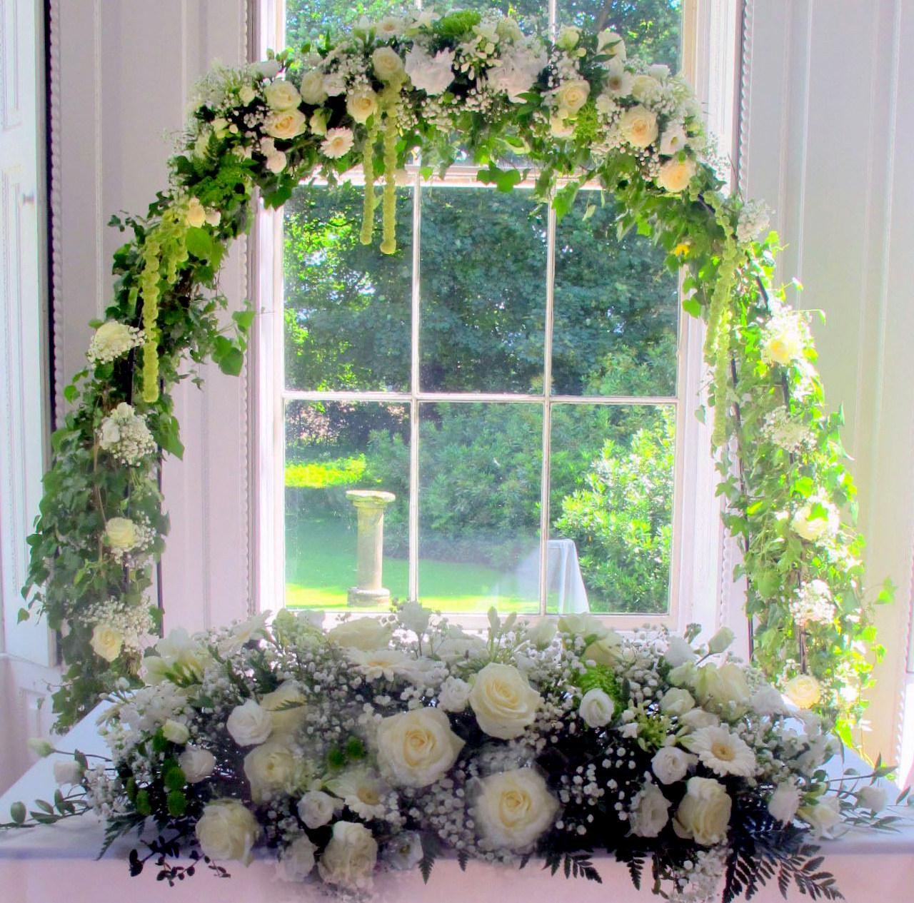 wedding archway shawlane