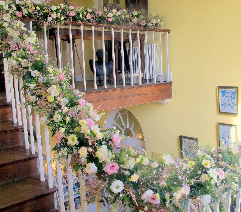 wedding stairway shaw lane joy fielding
